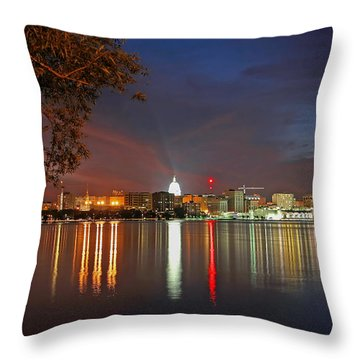 Reflections Of Madison Throw Pillow