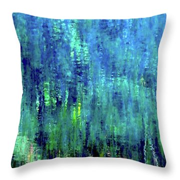 Reflections Of Monet 8155 H_12 Throw Pillow