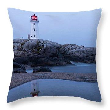 Nova Scotia Throw Pillows