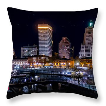 Reflections Of Providence Throw Pillow