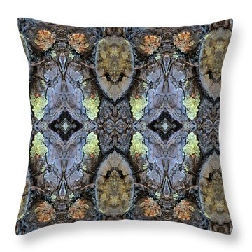 Reflections Of Samurai Throw Pillow