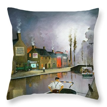 Reflections Of The Black Country Throw Pillow
