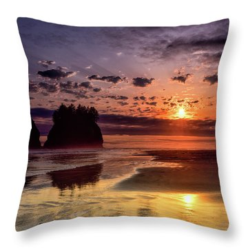 Reflections Of The Day Throw Pillow