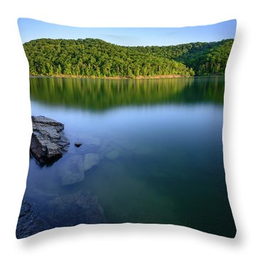 Reflections Of Tranquility Throw Pillow
