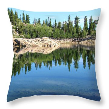 Reflections On Lake Mary Throw Pillow