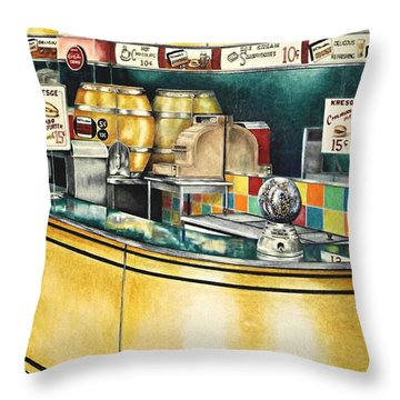 Reflections Passed Throw Pillow