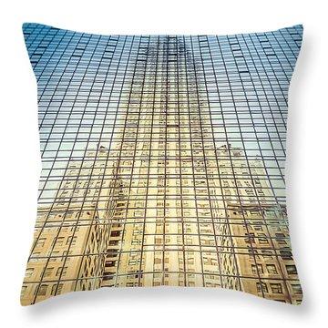 Reflective Empire Throw Pillow