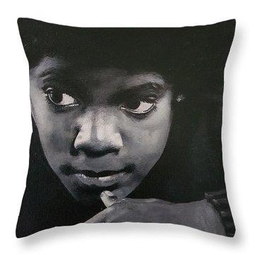 Reflective Mood  Throw Pillow