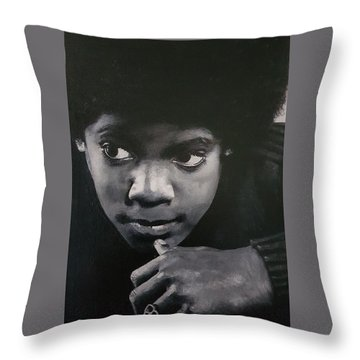 Reflective Mood  Throw Pillow