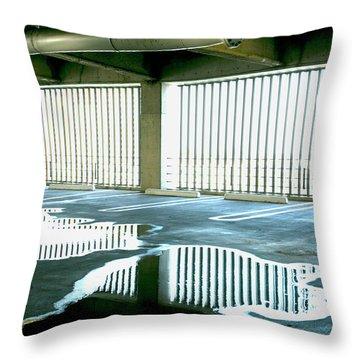 Reflective Pool Throw Pillow