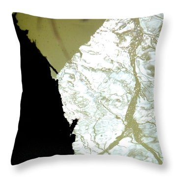 Reflets Impossibles Throw Pillow