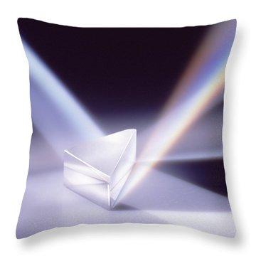 Refraction 2 Throw Pillow