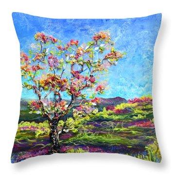 Refresh And Renew As A Diptych Orientation 1 Throw Pillow by Regina Valluzzi