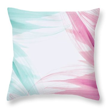 Throw Pillow featuring the photograph Refreshing by Andrea Anderegg