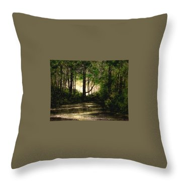 Refuge - Early Morning Throw Pillow