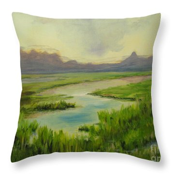 Refuge Eureka Throw Pillow
