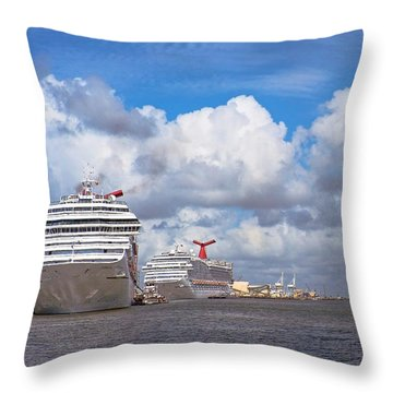 Refuling Throw Pillow
