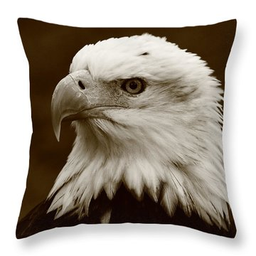 Regal  Eagle Throw Pillow