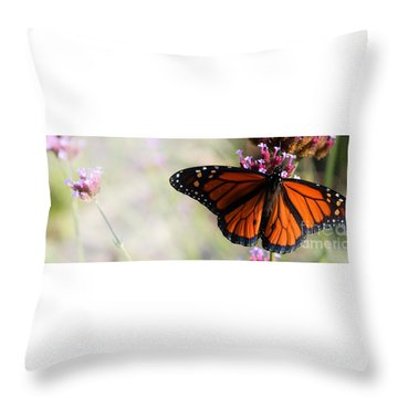 Regal Monarch  Throw Pillow