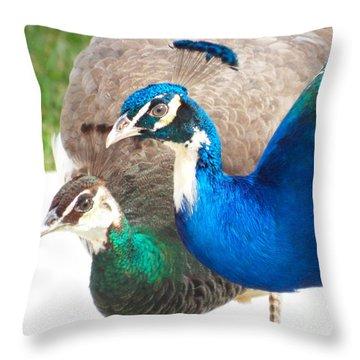 Regal Pair Throw Pillow