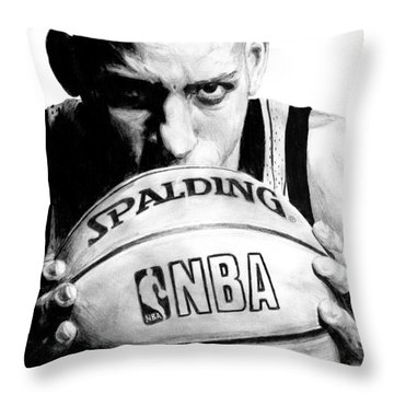 Reggie Miller Throw Pillow