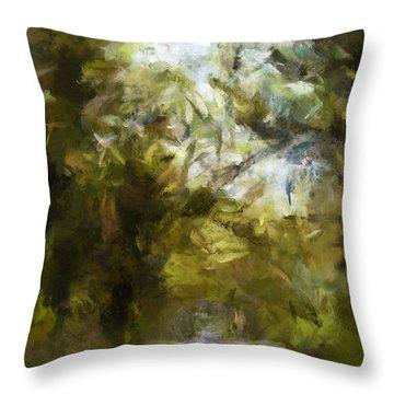 Regnskog Throw Pillow