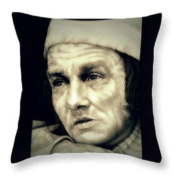 Regret Scrooge Throw Pillow