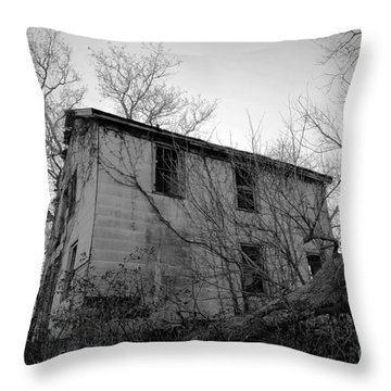 Regrowth Throw Pillow by Amanda Barcon