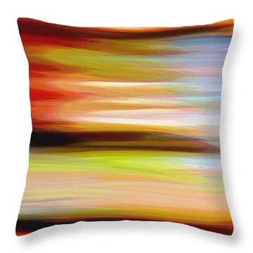 Reign Throw Pillow by Ely Arsha