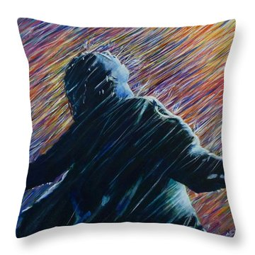 Reign O'er Me Throw Pillow