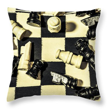 Throw Pillow featuring the photograph Reigning Champ by Jorgo Photography - Wall Art Gallery