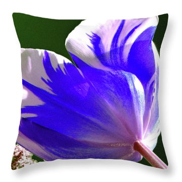 Reigning Tulips Throw Pillow by Christine Belt