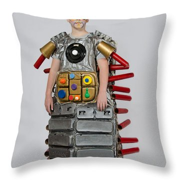 Reilly In Frank The Amazing Bugatron 2000 Throw Pillow