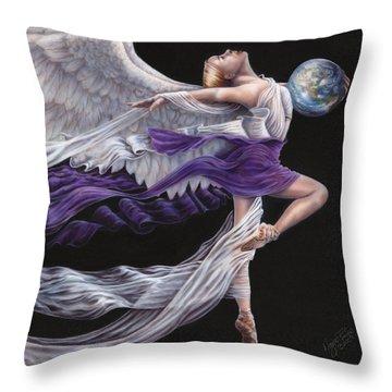 Rejoice II Throw Pillow
