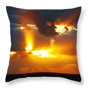 Rejoice Throw Pillow