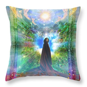 Rejoice-thy-young Throw Pillow