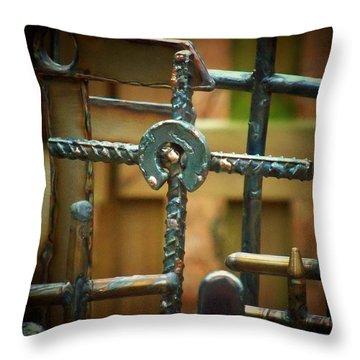 Relationship Throw Pillow by Deborah Montana