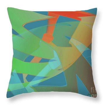 Relationship Dynamics Throw Pillow