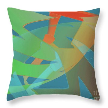 Relationship Dynamics Throw Pillow