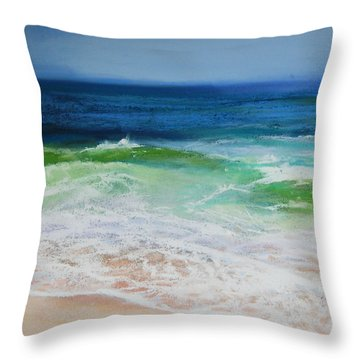 Relax Throw Pillow by Jeanne Rosier Smith
