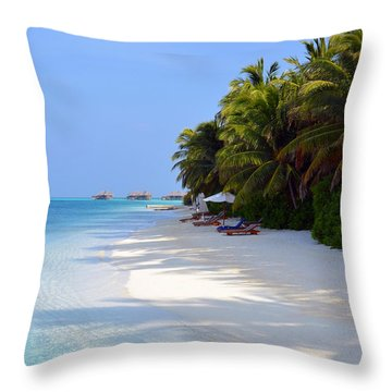 Relaxation Throw Pillow by Corinne Rhode
