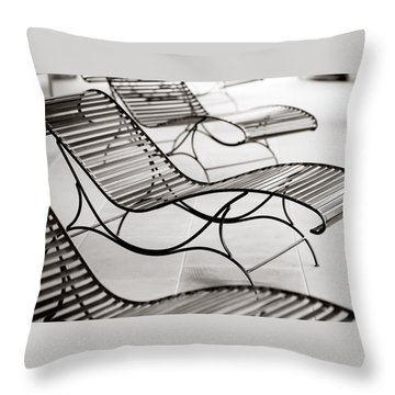 Relaxation Throw Pillow by Marilyn Hunt