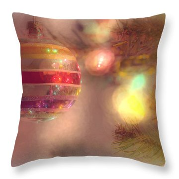 Throw Pillow featuring the photograph Relaxed Holiday by Christina Lihani