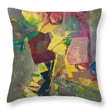 Relay The Force Pattern Throw Pillow