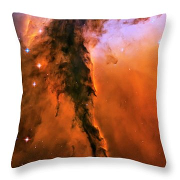 Release - Eagle Nebula 1 Throw Pillow