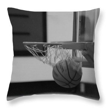 Release From The Net Throw Pillow