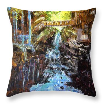 Relics Throw Pillow