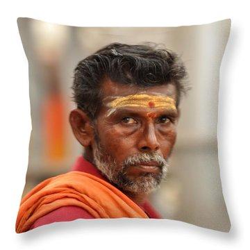 Religious India Throw Pillow