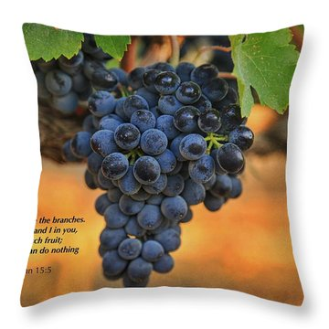 Remain In Me Throw Pillow