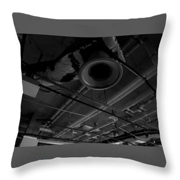 Remains Of Time Throw Pillow